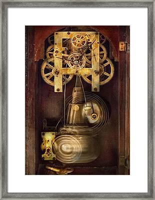 Clockmaker - The Mechanism  Framed Print