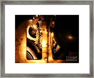 Clockwork Framed Print by Jason Williams