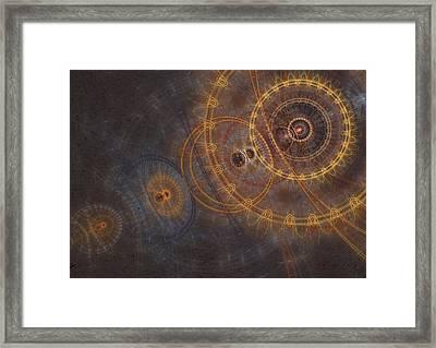 Clockwork Mind Framed Print