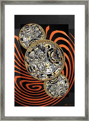 Clockwork Orange - 2 Of 4 Framed Print by Serge Averbukh