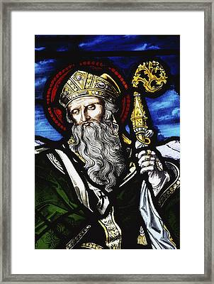 Clogheen, Ireland St. Patrick On Framed Print by Richard Cummins