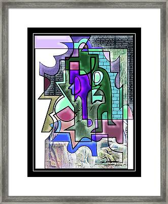Cloistered Framed Print by Dean Gleisberg