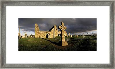Clonmacnoise Monastery, Co Offaly Framed Print by The Irish Image Collection