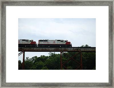 Close And Personal Framed Print by Cheryl Helms