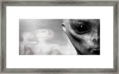Close Encounter Framed Print by Bob Orsillo