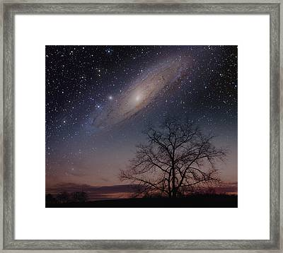 Framed Print featuring the photograph Close Encounters - Andromeda by Charles Warren