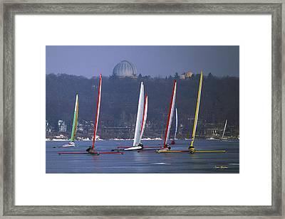 Close Encounters - Lake Geneva Wisconsin Framed Print