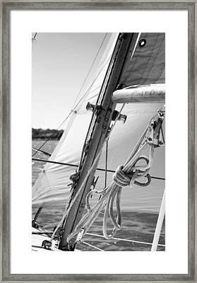 Close-hauled Framed Print