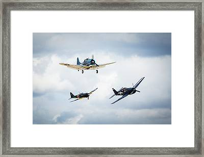 Close Quarters Framed Print by Brian Knott Photography