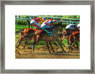 Close Quarters Framed Print