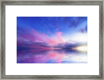 Close To Infinity Framed Print