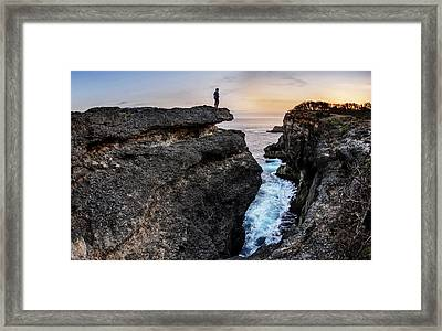 Framed Print featuring the photograph Close To Nature by Pradeep Raja Prints