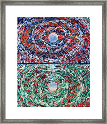 Close To The Edge Framed Print by Rollin Kocsis