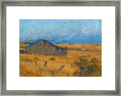 Close To The Sea Framed Print
