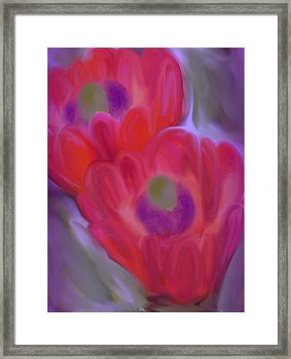 Close Up Beauty Framed Print by Vickie Judkins
