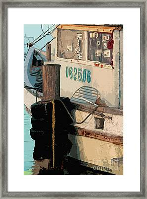 Closed For Christmas Framed Print by Joe Jake Pratt