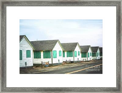 Closed For The Season #2 Framed Print