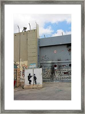 Closed Gates Framed Print