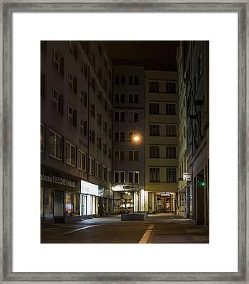 Closed Framed Print by Marek Boguszak