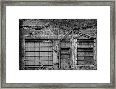 Closed Framed Print by Robert Wilder Jr