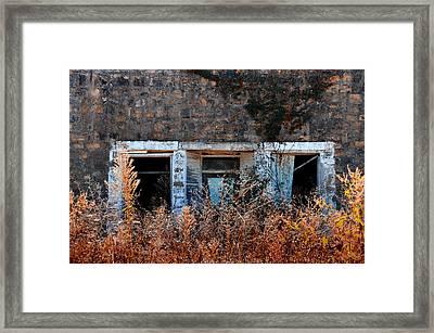 Closed 'til Spring Framed Print by Lyle  Huisken