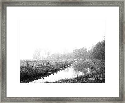 Closed Zone Framed Print