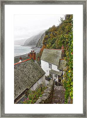 Clovelly Coastline Framed Print