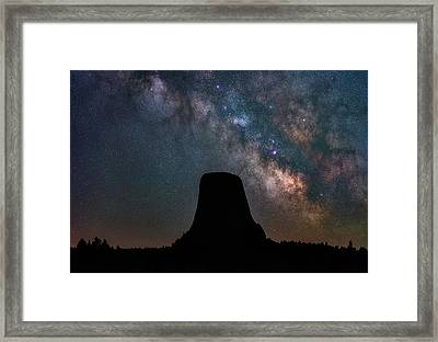 Framed Print featuring the photograph Closer Encounters by Darren White