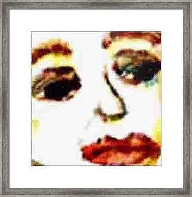 Closer Look Framed Print