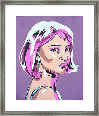 Closer To Natalie Framed Print by Sarah Crumpler