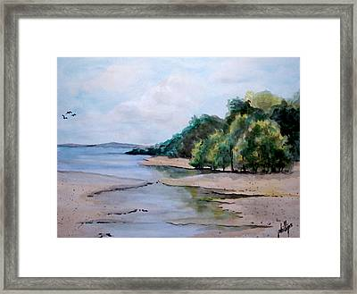 Closer To The Ocean Framed Print