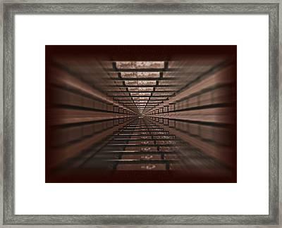 Closing In Framed Print by Deborah Klubertanz