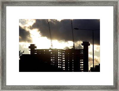 Closing Of The Day Framed Print by Jez C Self
