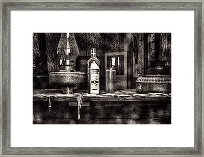 Closing Time Bodie Ghost Town Framed Print by Roger Passman