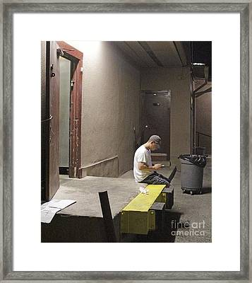 Closing Time Framed Print