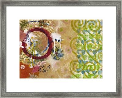 Closure Framed Print by Gloria Von Sperling