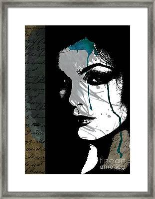 Closure Framed Print by Ramneek Narang