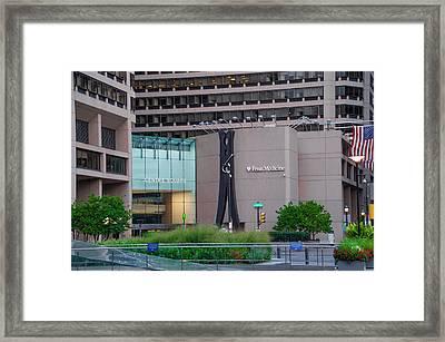 Clothes Pin - Center Square - Philadelphia Framed Print