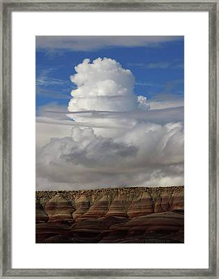 Cloud 1 Framed Print by Jerry LoFaro