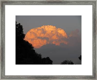 Framed Print featuring the photograph Cloud 2 by Douglas Pike