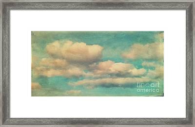 Cloud 3 Framed Print