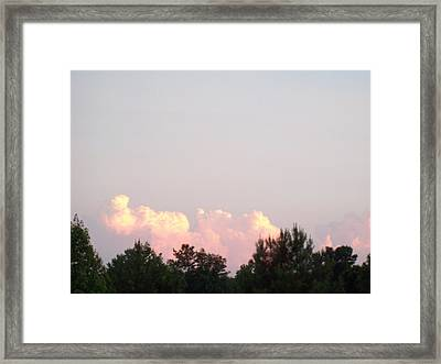 Cloud 99 Framed Print