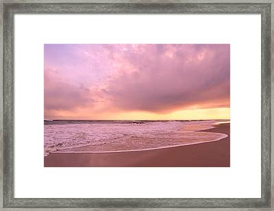 Framed Print featuring the photograph Cloud And Water by Karen Silvestri