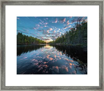 Cloud Atlas // Bwca, Minnesota Framed Print