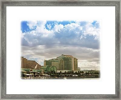 Cloud Blanket  Framed Print by Douglas Barnard