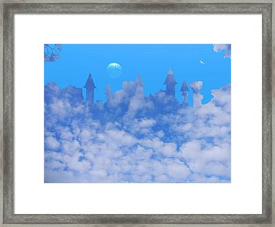 Cloud Castle Framed Print