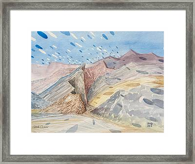 Cloud Chaser Framed Print by Vaughan Davies