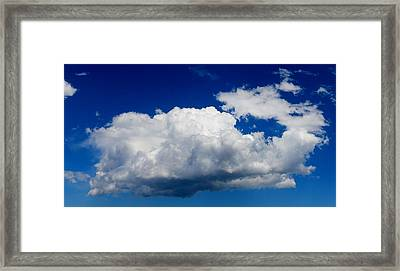 Framed Print featuring the photograph Cloud by Christy Pooschke