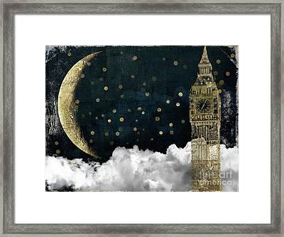 Cloud Cities London Framed Print
