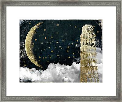 Cloud Cities Pisa Italy Framed Print by Mindy Sommers